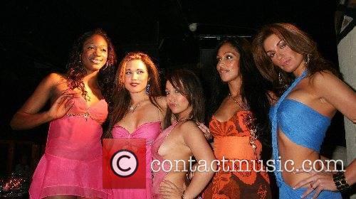Portia, Laura-Jane, Donatella, Cuben and DJ Sassy Rebecca...