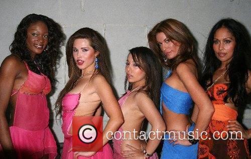 Portia, Laura-JaneDonatella, DJ Sassy and Cuben Rebecca Simones...