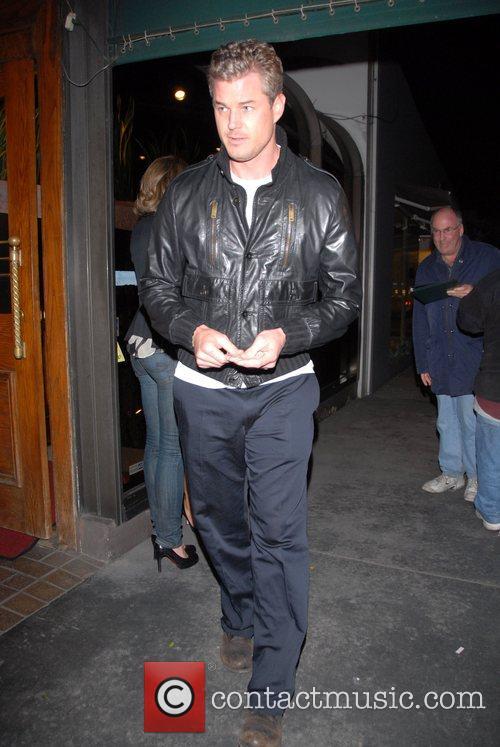 Eric Dane leaving Madeos Restaurant. Los Angeles, California