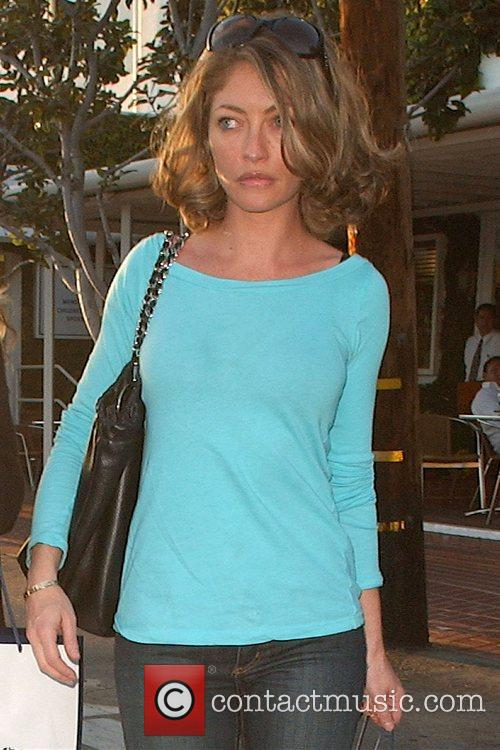 Rebecca Gayheart goes shopping at Fred Segal in...