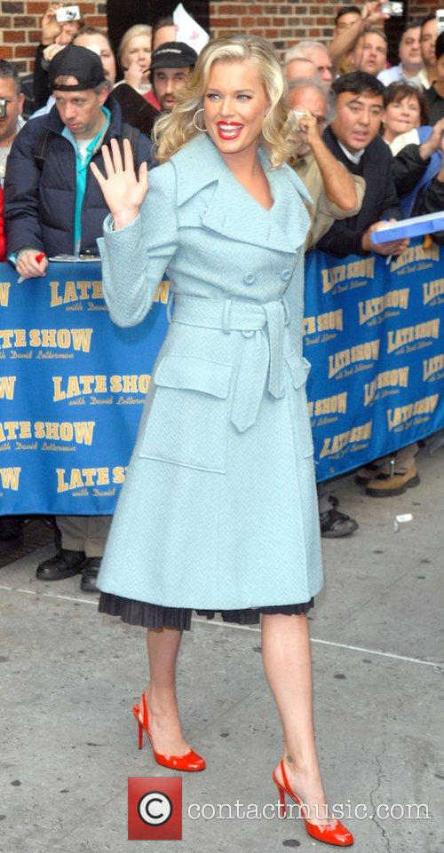 Leaving the Late Show with David Letterman at...