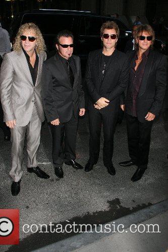 Bon Jovi, Jon Bon Jovi, David Bryan, Tico Torres and Richie Sambora 2