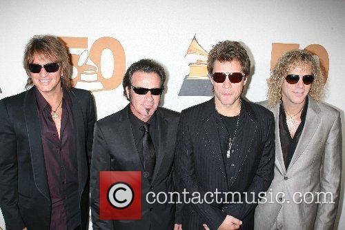 Richie Sambora, Tico Torres, Jon Bon Jovi and...