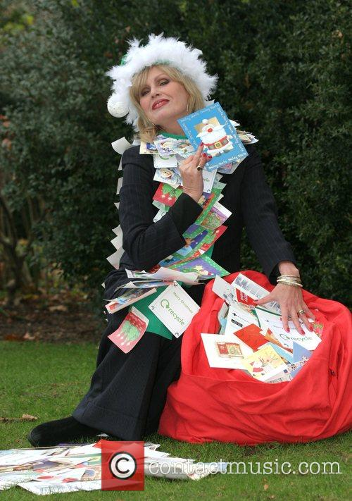 Launches the Woodland Trust Christmas recycling campaign at...