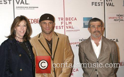 Jane Rosenthal, Randy Couture and David Mamet 4
