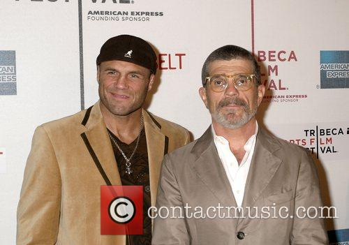 Randy Couture and David Mamet  2008 Tribeca...