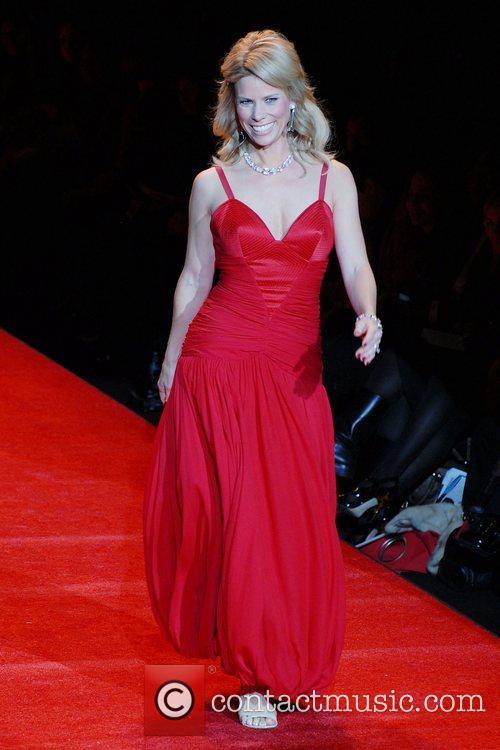 Mercedes-Benz Fashion Week Fall 2008 - Red Dress...
