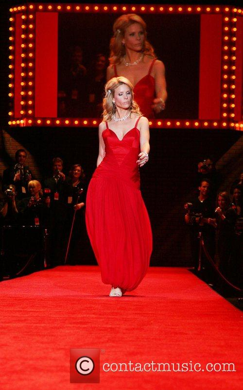 Mercedes-Benz Fashion Week Fall 2008 - Red Dress...