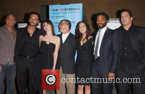 Cast Premiere of Redbelt shown at the Egyptian...