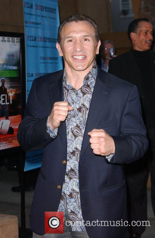Ray Mancini Premiere of Redbelt shown at the...