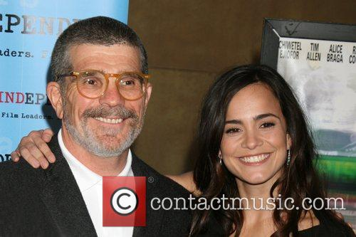 David Mamet and Alice Braga Premiere of Redbelt...