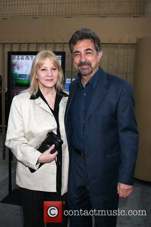 Joe Mantegna and Wife Premiere of Redbelt shown...