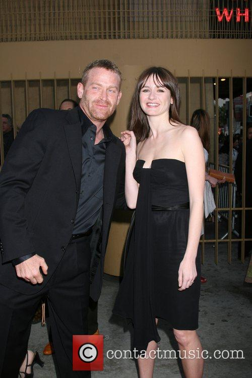 Max Martini and Emily Mortimer Premiere of Redbelt...