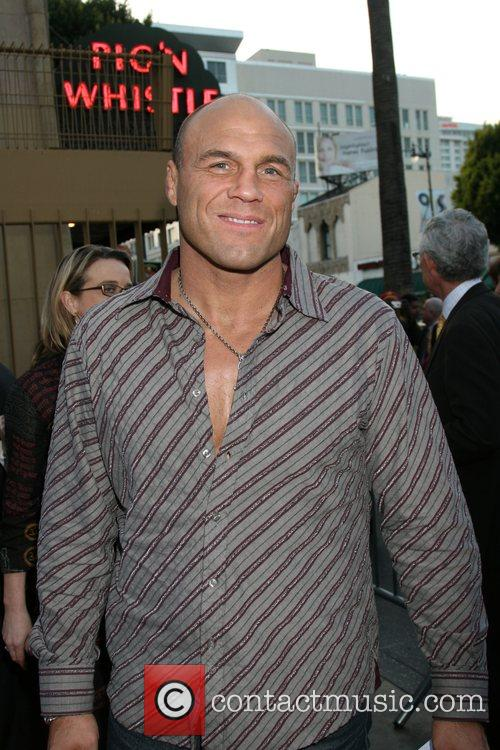Randy Couture Premiere of Redbelt shown at the...