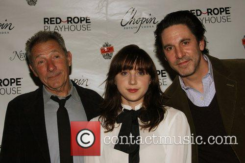 Israel Horovitz, Zoe Kazan and Scott Cohen 4