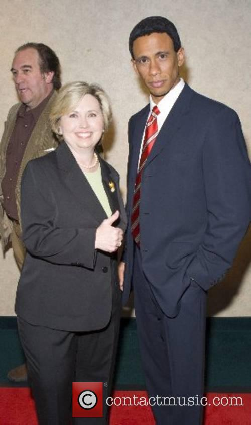 Hillary Clinton and Barack Obama lookalikes 16th annual...
