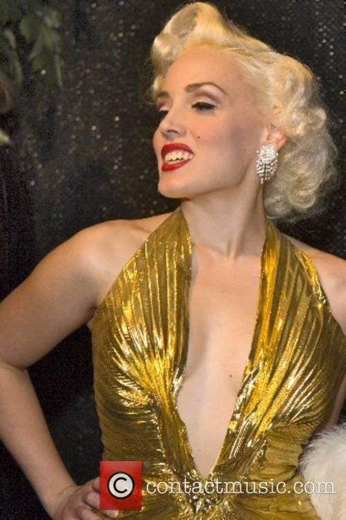 Marlilyn Monroe lookalike 16th annual 'The Reel Awards'...