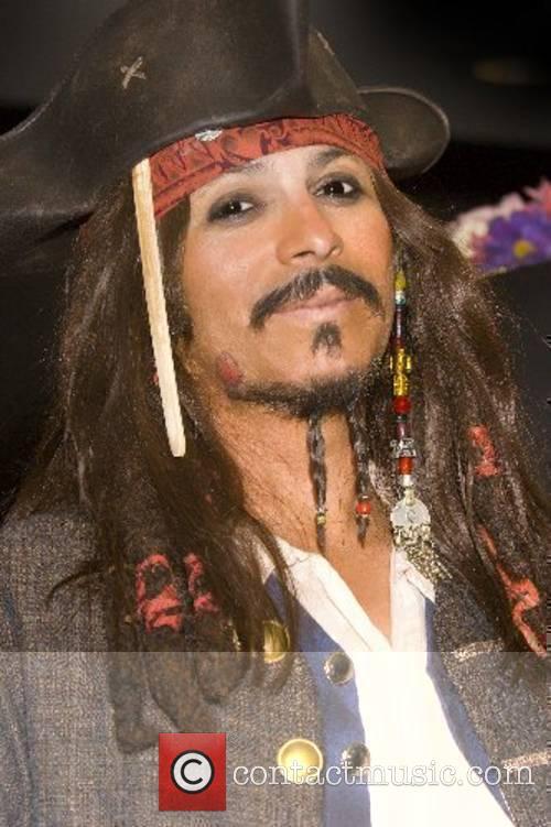 Captain Jack Sparrow (Johnny Depp) lookalike 16th annual...