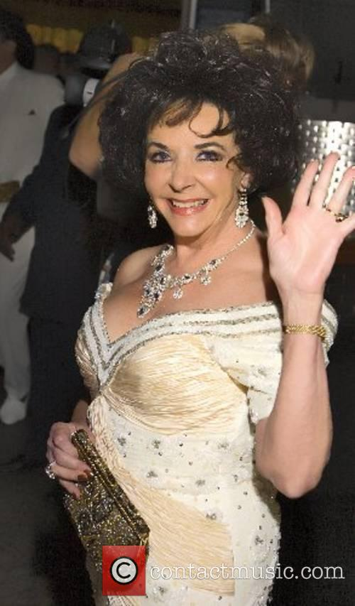 Elizabeth Taylor lookalike 16th annual 'The Reel Awards'...