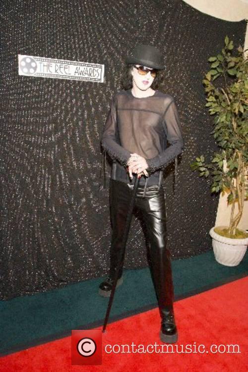 Marilyn Manson lookalike 16th annual 'The Reel Awards'...