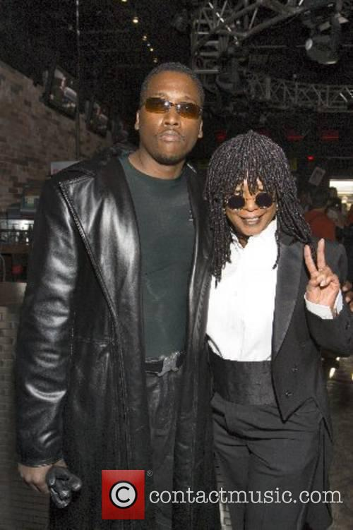 Wesley Snipes and Whoopi Goldberg lookalikes 16th annual...