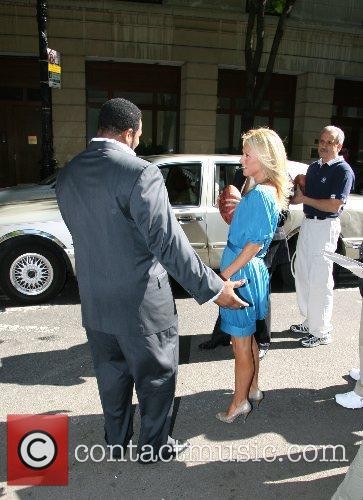 Jerome Beitts and Kelly Ripa Regis Philbin and...