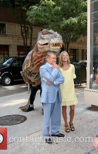 Kelly Ripa and Regis Philbin 12