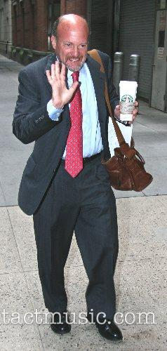 NBC's Mad Money host Jim Cramer at ABC...