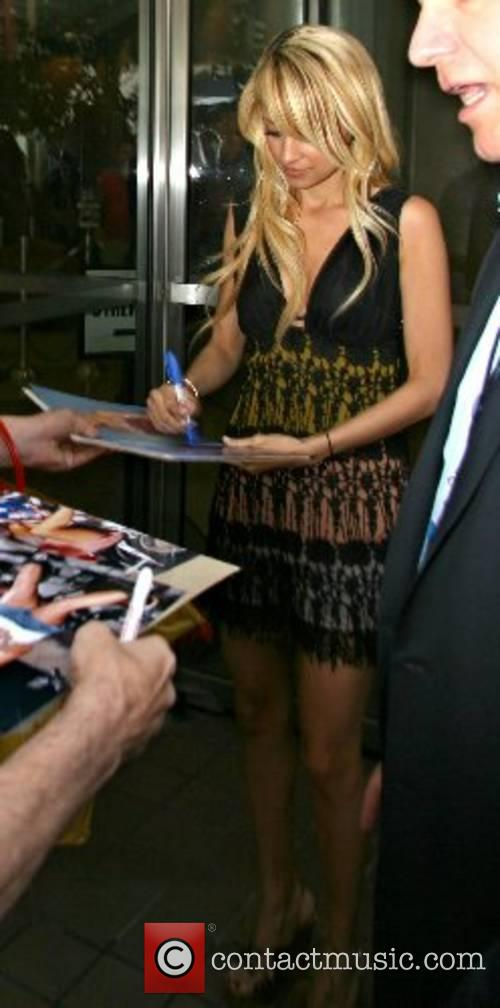 Nicole Richie at the ABC Studios after appearing...