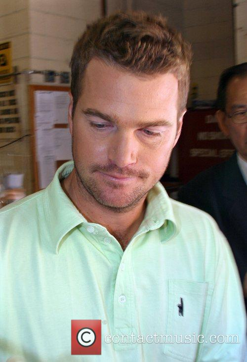 Chris O'Donnell Leaving ABC Studio's after appearing on...