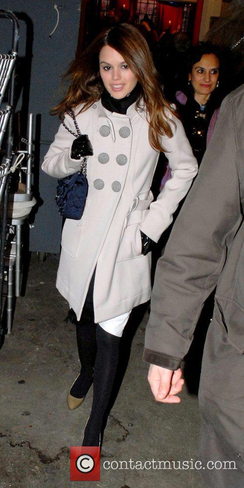 Rachel Bilson  leaving ABC's studios after appearing...