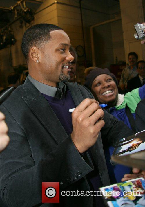Will Smith leaving ABC's studios after appearing on...