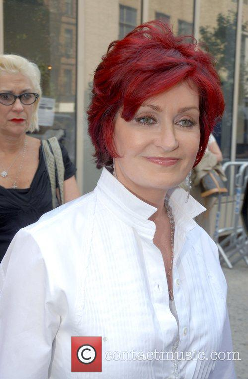Sharon Osbourne Celebrities outside ABC Studios after appearing...