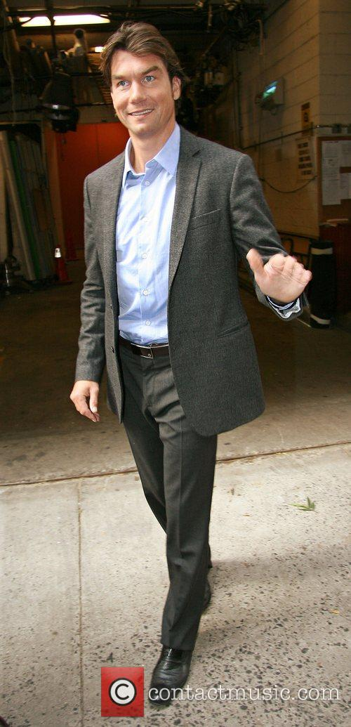 Jerry O'Connell leaving ABC studio's after appearing on...