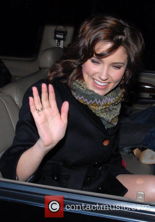 Departing ABC Studios after appearing on 'Live with...