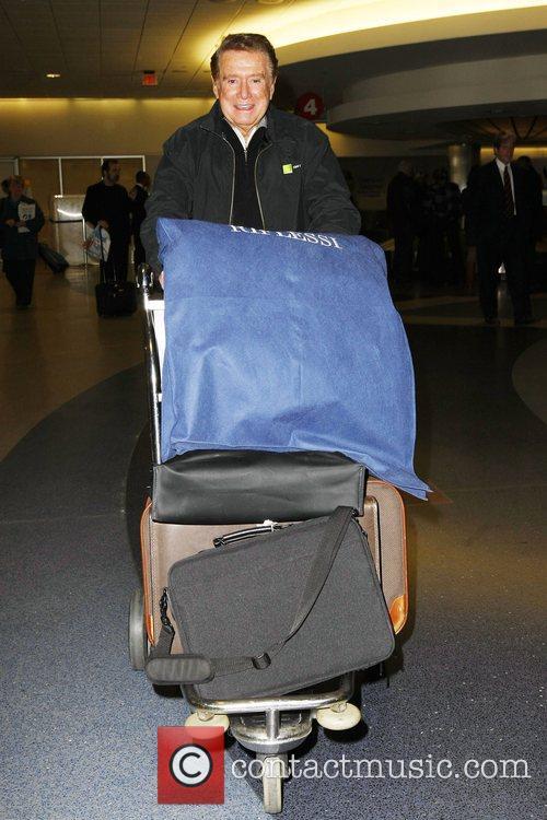 Emmy Award-winning American television personality Regis Philbin arrives...