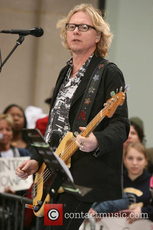 Mike Mills R.E.M performs live on NBC's 'The...