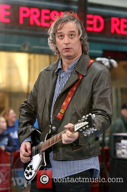 Peter Buck R.E.M performs live on NBC's 'The...