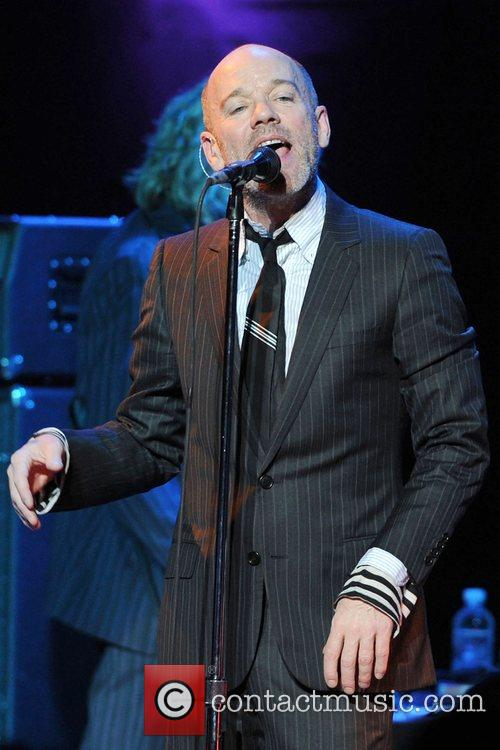 R.E.M perform at the Royal Albert Hall