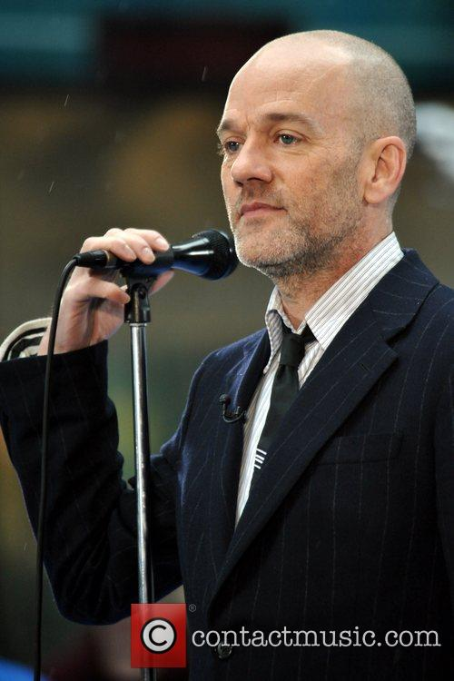 R.E.M performs live on NBC's 'The Today Show'...