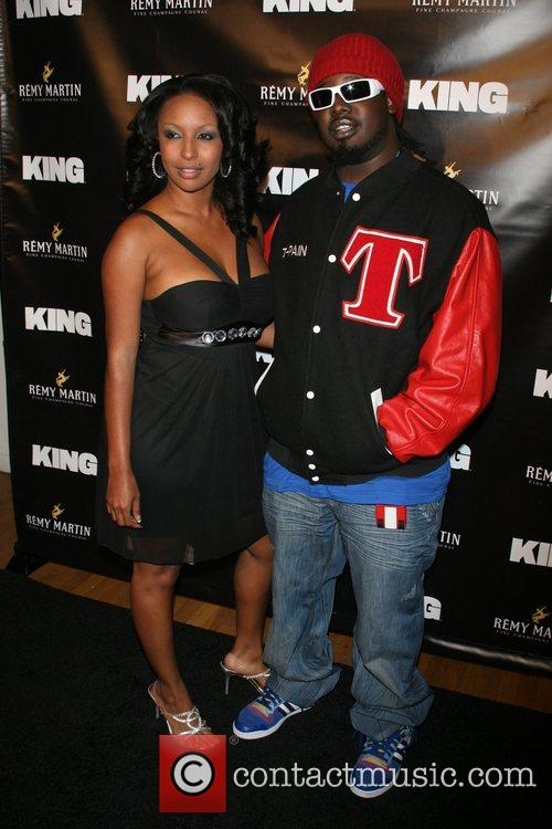 Lizz Robbins and T-Pain Remy Martin gets interesting...
