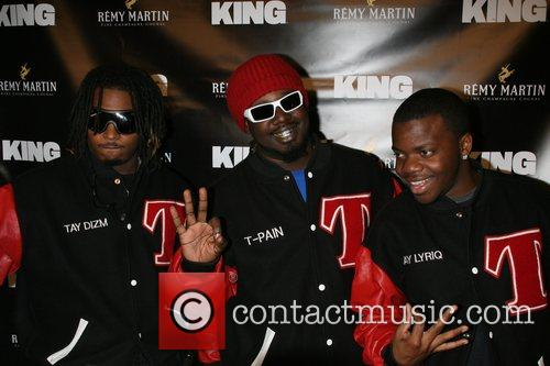 T-Pain and Nappy boy Remy Martin gets interesting...