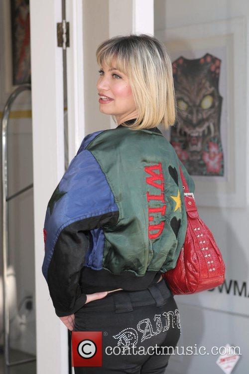 Rena Riffel shopping on Robertson Blvd