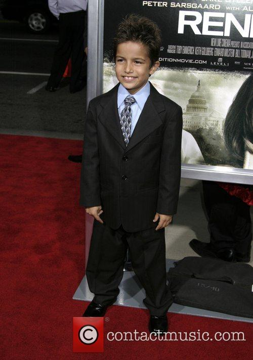 Aramis Knight 'Rendition' premiere held at the Academy...
