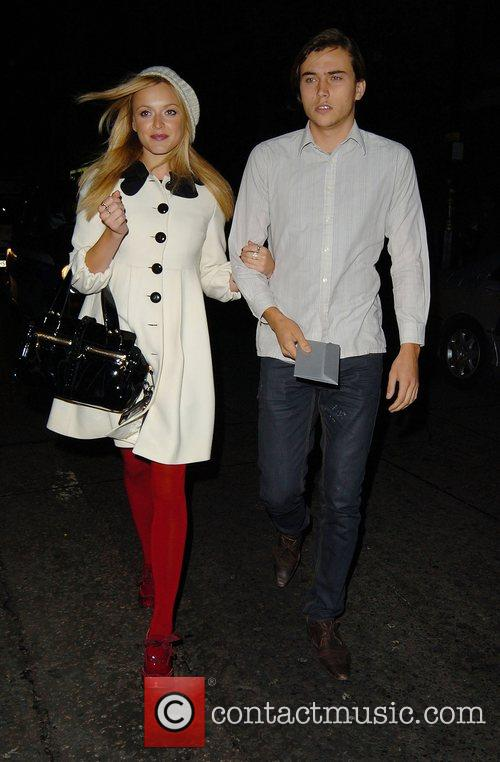 Fearne Cotton and Jesse Jenkins