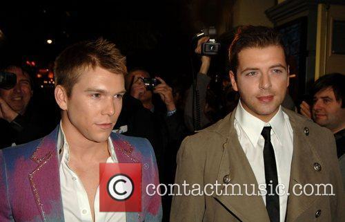 Kevin McDaid and Mark Feehily of Westlife 'Rent'...
