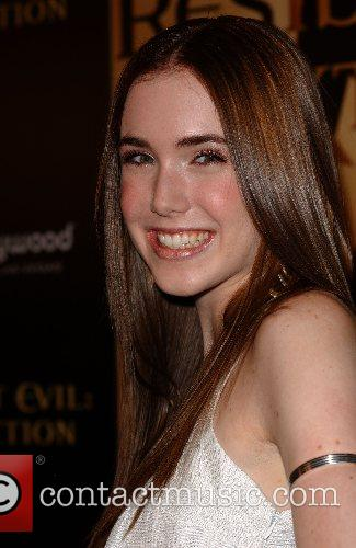 Spencer Locke World Premiere of 'Resident Evil: Extinction'...
