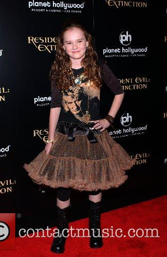 Madeline Carroll World Premiere of 'Resident Evil: Extinction'...