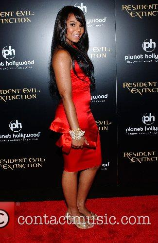 Ashanti World Premiere of 'Resident Evil: Extinction' at...