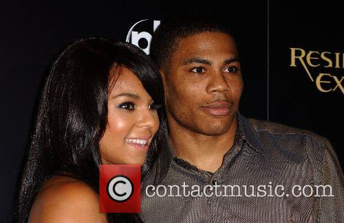 Ashanti and Nelly World Premiere of 'Resident Evil:...